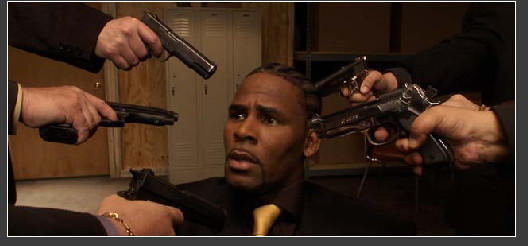 "Screenshot from R. Kelly's ""Trapped In The Closet"""