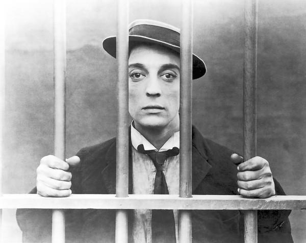"""Buston Keaton in the silent film """"Cops"""" with musical accompaniment by Virginia Symphony Pops"""