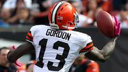 When the Ravens last played the Cleveland Browns, Browns rookie wide receiver Josh Gordon played just 30 snaps, fewer than fellow rookie Travis Benjamin and little-used veteran wide receiver Jordan Norwood. With just one catch for 16 yards in a Ravens win, Gordon didn't look like a receiver who was poised to break out.