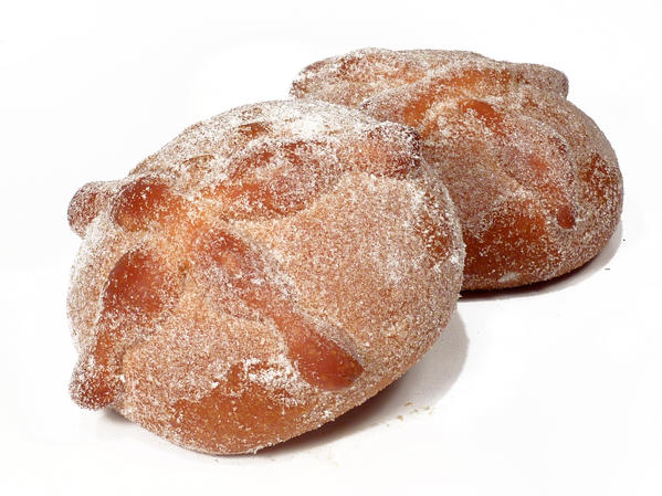 Pan de muerto is time-intensive to make from scratch. Buying at a ...