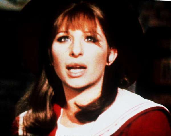 "Barbra Streisand in ""Funny Girl"""