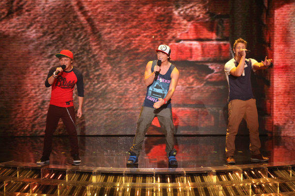 "Emblem3 performs live on ""The X Factor."""