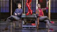 "Stark Sands and Billy Porter in ""Kinky Boots."""