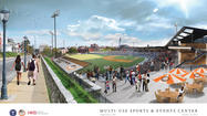 Hagerstown releases new rendering of proposed stadium
