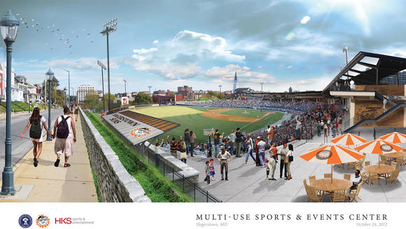 Proposed Multi-use Sports and Events Center