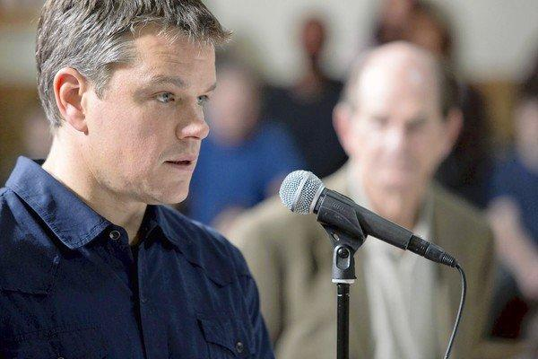 "Matt Damon acted in, co-wrote and produced ""Promised Land."" He was also going to direct, but then recruited Gus Van Sant for that job."