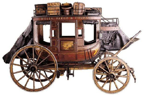Wells Fargo & Co.'s famous stagecoach. Wells is challenging a lawsuit over its FHA mortgages filed by the U.S. attorney for Manhattan. The bank says a previous legal settlement with state and federal officials covered its liability.