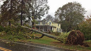 Sandy hit Madison and several other Connecticut towns Monday with hurricane-force gusts, causing undetermined damage, but it would have cost homeowners across the state thousands of dollars each if it actually sustained those winds.