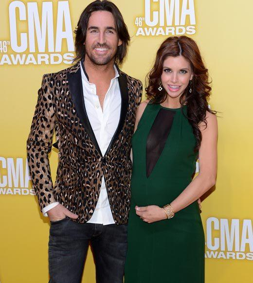 2012 CMA Awards red carpet arrival pics: Jake and Lacey Buchanan Owen