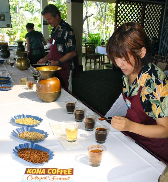 "It's not just another cup of Joe. Growers compete to see which Kona coffee farm produces the brew with standout ""Kona characteristics."""