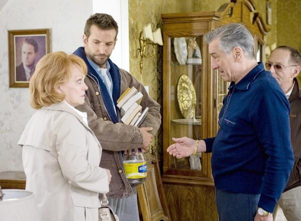 "IN ""Silver Linings Playbook,"" Robert De Niro (with, from left, Jacki Weaver, Bradley Cooper, Paul Herman) plays a football-obsessed father."