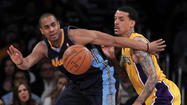 Arron Afflalo isn't providing the Denver Nuggets with any bulletin-board fodder.
