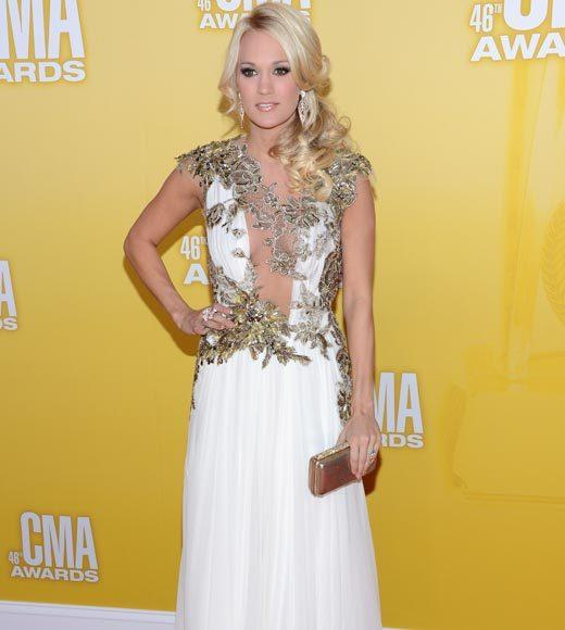 2012 CMA Awards red carpet arrival pics: Carrie Underwood