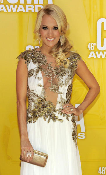 Recording artist Carrie Underwood.