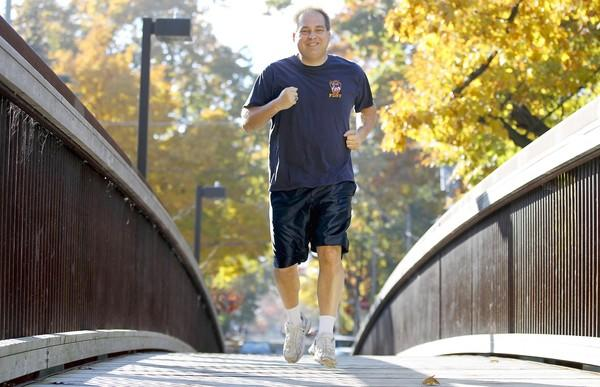 Tony cured his diabetes with regular exercise.