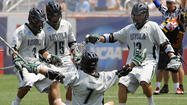The defending NCAA champion Loyola men's lacrosse team will open its 2013 season with a pair of road games before beginning its home schedule on Saturday, Feb. 23, with a rematch of the national title game against Maryland, Greyhounds coach Charley Toomey announced Thursday.