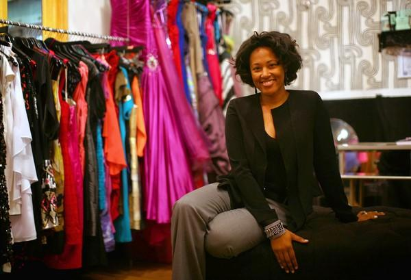Jennifer Burrell said a daylong camp at the Gleacher Center gave her a better idea for potential financing options for The Frock Shop, her designer-dress rental business in Chicago's Pilsen neighborhood. The store is poised to expand its inventory and step up its marketing.