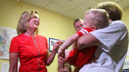 Babies and kids on the campaign trail.