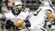 Frankly speaking, a dominating quarterback guides Manchester Valley to playoffs