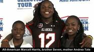 Dr. Phillips safety Marcell Harris officially became the fourth straight Panthers' Under Armour All-American on Wednesday when officials dropped by the school for a presentation with Harris in front of his family, friends, coaches and teammates.