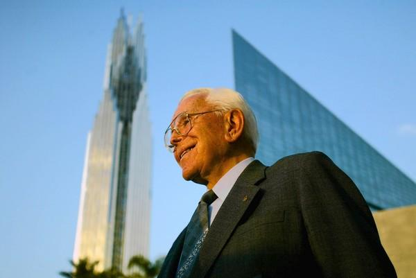 The Rev. Robert H. Schuller founded Crystal Cathedral Ministries in 1955.