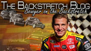 The Backstretch Blog: Bowyer on the Backstretch