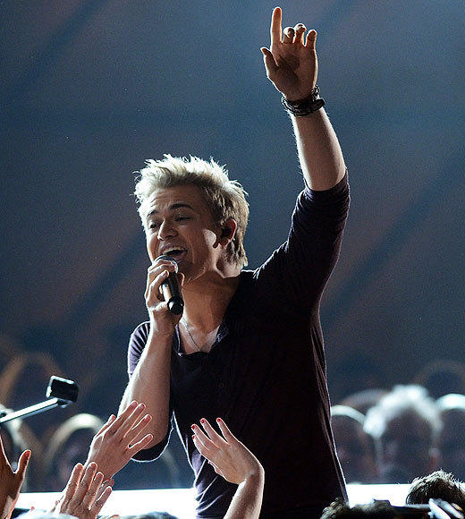 "Best new artist winner Hunter Hayes, with all his youth and his heart-on-sleeve lyrics, is earning comparisons to Taylor Swift. And then he went and gave an ""I can't even believe this"" acceptance speech when he won his award. So it's official. Past girlfriends of Hunter Hayes, take note: That song may be about you.<br><br> <i>-- <a href=""http://twitter.com/Zap2itRick"">Rick Porter</a>, <a href=""http://www.zap2it.com"">Zap2it</a></i>"