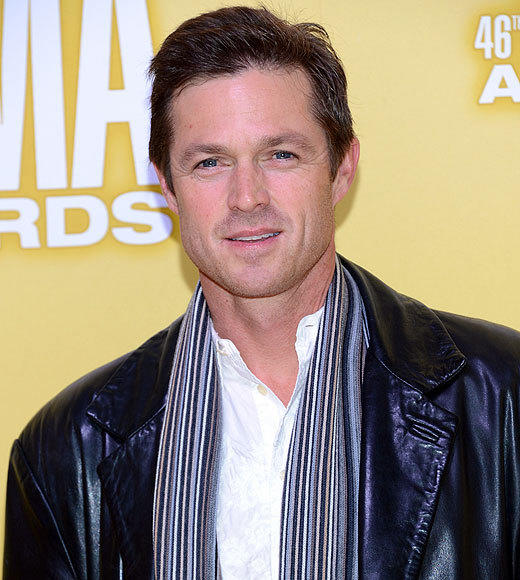 "Eric Close is one of the stars of ABC's ""Nashville,"" which explains his presence at the CMA Awards. Not explained: his curious fashion choice for the evening. A long leather coat over jeans and banded-collar shirt, with a striped scarf, doesn't really scream ""awards show,"" does it?<br><br> <i>-- <a href=""http://twitter.com/Zap2itRick"">Rick Porter</a>, <a href=""http://www.zap2it.com"">Zap2it</a></i>"