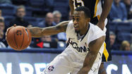 Pictures: UConn Men's Exhibition Game Against AIC