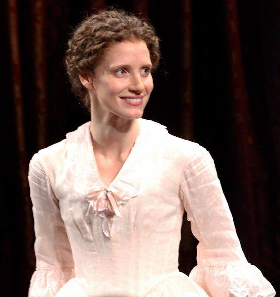 "Jessica Chastain made her Broadway debut in Ruth and Augustus Goetz's oft-revived drama, ""The Heiress."""