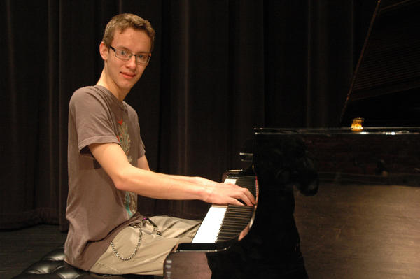 Eddy Walda, 17, of Harbor Springs is putting on a concert that will benefit the Harbor Springs band boosters.