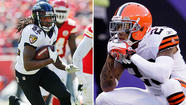 Ravens WR Torrey Smith vs. Browns CB Joe Haden