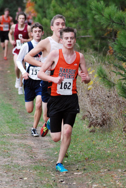 Harbor Springs sophomore Michael Gorman and the Rams will compete in the Division IV state finals Saturday, Nov. 3, at Michigan International Speedway in Brooklyn.