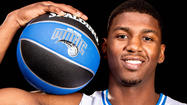 Pictures:  Orlando Magic player DeQuan Jones