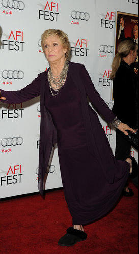 Actress Cloris Leachman.