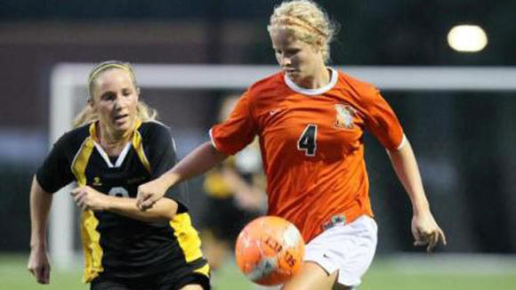 Kalamazoo College senior Natalie Reszka was recently named the MIAA soccer Offensive Player of the Week.