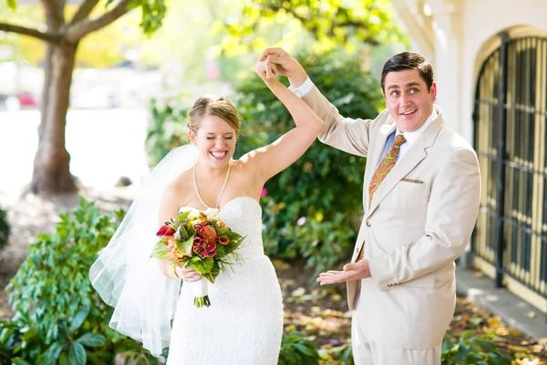 Lauren and Brennan celebrated their wedding at The Maryland Zoo in Baltimore.