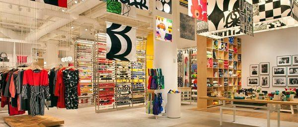 Marimekko, whose flagship store is in New York and shown here, is planning to open a store in Southern California.