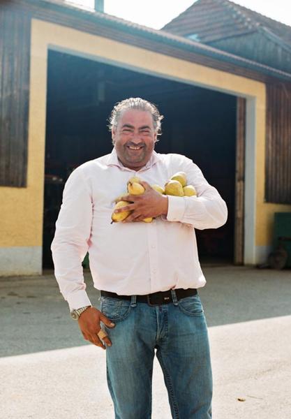 Austrian master distiller, Hans Reisetbauer makes brandies and whisky.