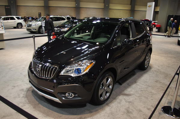 Buick's new, very small crossover utility vehicle.