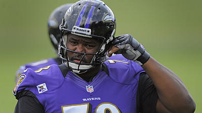Bryant McKinnie glad he wasn't traded, says, 'It's a blessing'