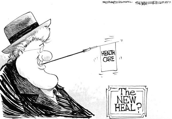Before Obamacare there was Clintoncare. But it went no where.