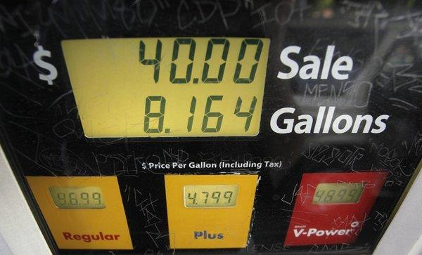 On Oct. 9, California's average price for a gallon of regular hit a record $4.671. Now the state is poised to average more than $4 a gallon over the course of a full year for the first time ever.