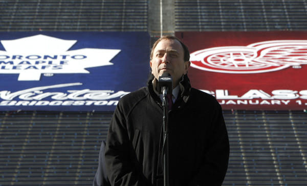 NHL Commissioner Gary Bettman announced last winter that the 2013 NHL Winter Classic would be at Michigan Stadium. On Friday, the league announced the game was canceled.