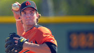Orioles minor league infielder Ryan Adams has received a 25-game suspension after testing positive for an Amphetamine in violation of Major League Baseball's joint drug prevention and treatment program, MLB announced Friday.