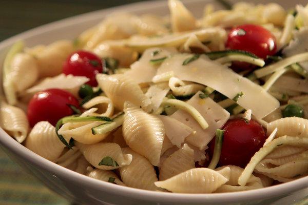 Wolfe's Market's pasta salad.