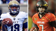 Analysis: QB changes take Navy, Terps in different directions