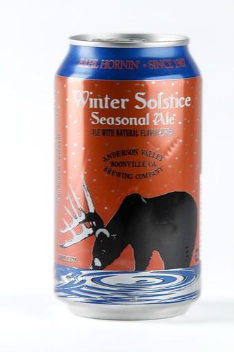 Anderson Valley Brewing Winter Solstice.