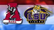 Number five ranked LSU faces off against number one Alabama Saturday night in Baton Rouge.
