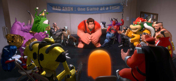 "A scene from ""Wreck-It Ralph."""